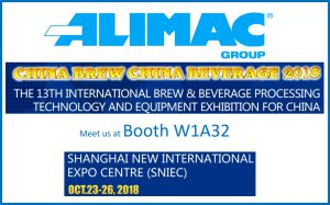 China Brew - China Beverage October 23-26 2018